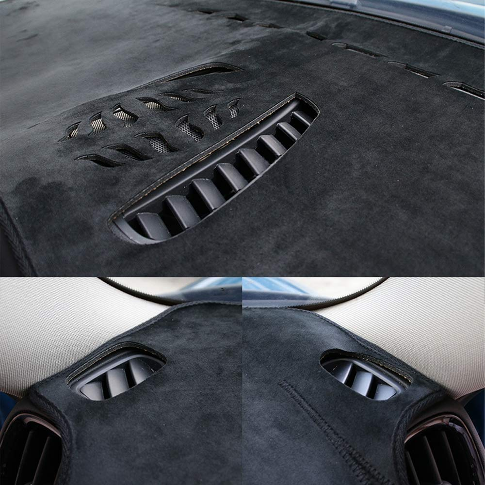 Auto armaturenbrett abdeckung dash mat pad anti-sun anti-slip f/ür mini cooper countryman s r55 r56 r60 r61 f54 f55 f56 f560 auto zubeh/ör,Black4