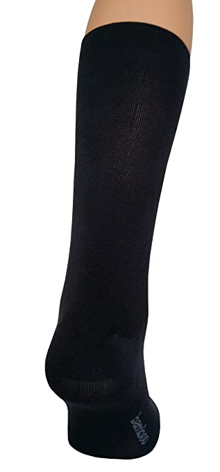 by eXPANSIVE EUR 39-42 size UK 6-8 Bambus for LIFE eXPANSIVE Black ECO BAMBOO FIBRE SOCKS