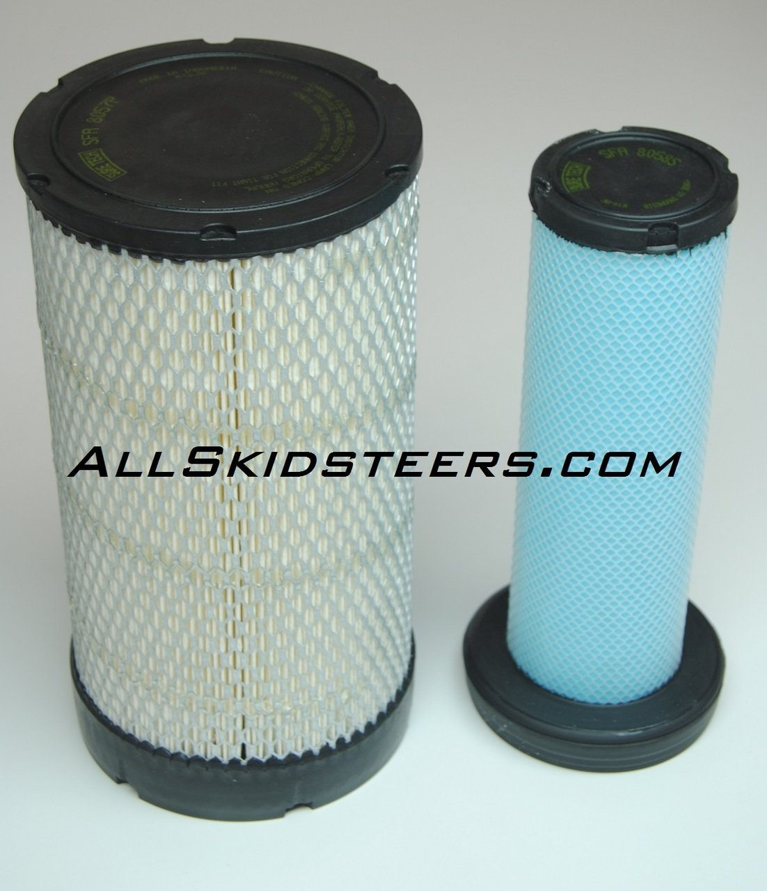 Engine Air Filter Kit for Bobcat Skid Steers | Replaces OEM #s 6698058 & 6698057 by All Skidsteers
