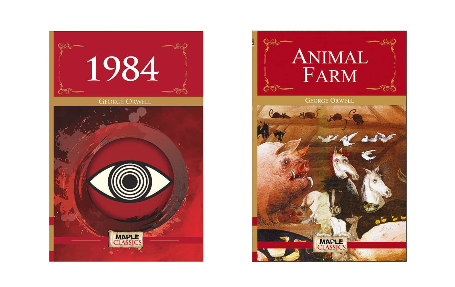1984, Animal Farm (Set of 2 Books)