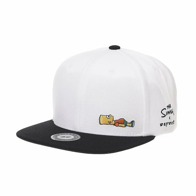WITHMOONS Gorras de béisbol Gorra de Trucker Sombrero de The Simpsons  Baseball Cap Bart Simpson Snapback 7d5c273ed60