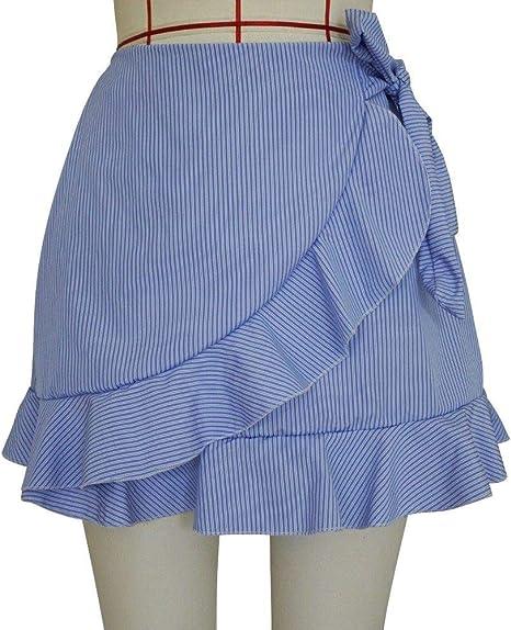 DDSCB Falda Corta para Mujer,Faldas De Mujer Sexy Mini Faldas ...