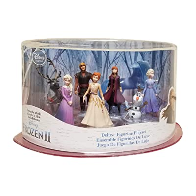 Disney Collection Frozen 2 Deluxe Figurine Playset - 8 Pieces: Toys & Games