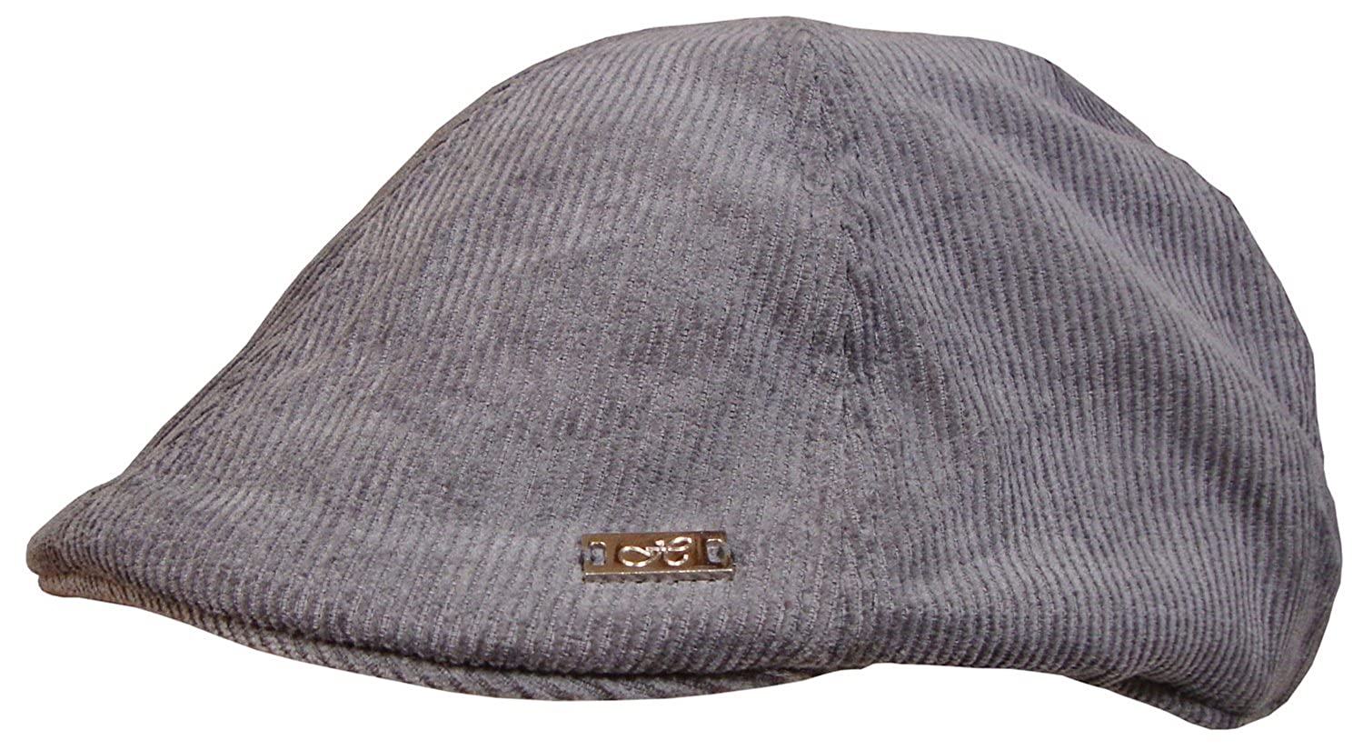 Gents Mens Ladies Tweed Check Flat Cap Pre Formed Peak Grey Or Brown Wool Mix