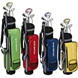 Young Gun ZAAP EAGLE Junior Kids Right Hand Graphite/Steel Golf Clubs Set + BAG