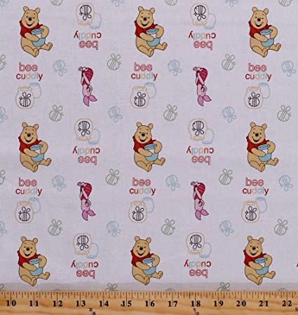 fcf7373c8cf8 Cotton Winnie the Pooh Bear Piglet Bees Honey Pots Bee Cuddly Bee Toss  Disney Kids White
