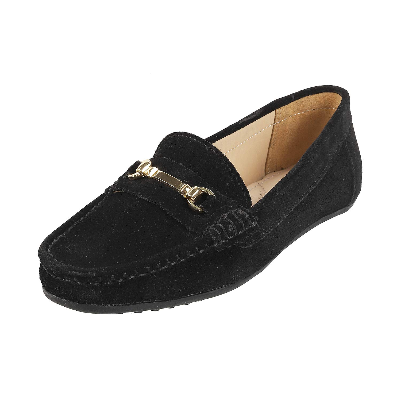 Black Loafers-6 UK (39 EU) (31-9102