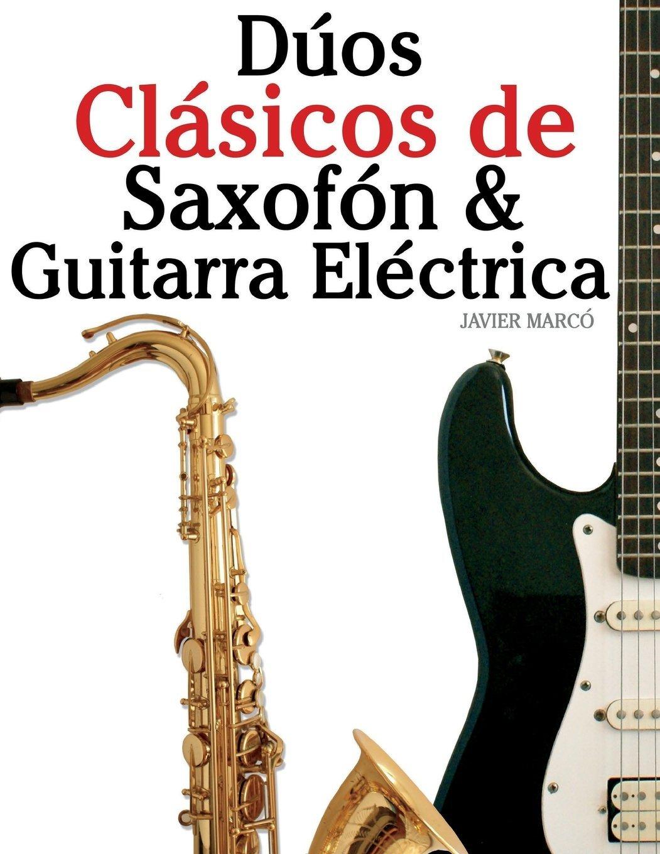 Saxofon y guitarra electrica