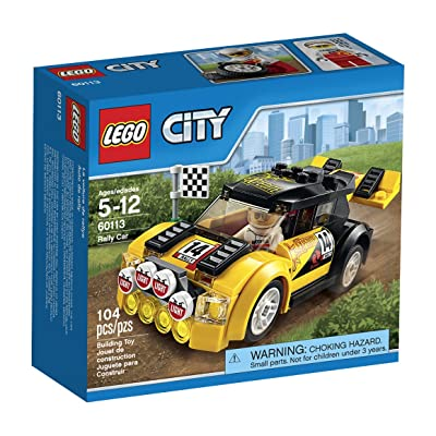 LEGO CITY Rally Car 60113: Toys & Games