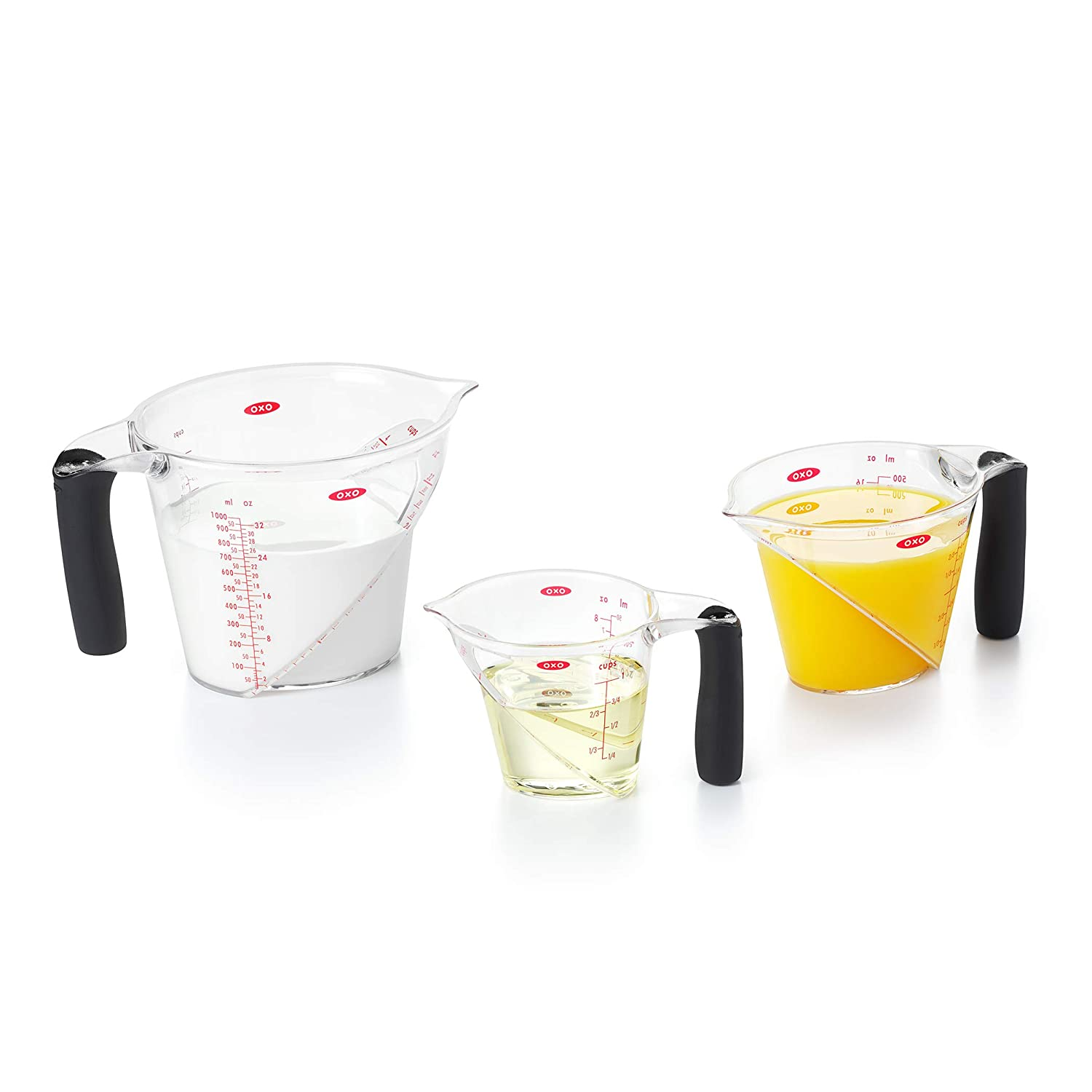 OXO Good Grips 3-Piece Angled Measuring Cup Set