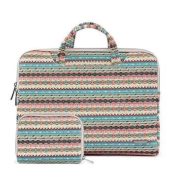 11.6-12 pulgadas Laptop maletín Mango bolsa,MacBook Laptop Funda para Apple iPad Pro y ordenador portátil/Macbook Pro/MacBook Air/MacBook Pro Retina ...