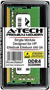 A-Tech 8GB RAM for HP EliteBook 840 G6 | DDR4 2400 SODIMM PC4-19200 1.2V 260-Pin Memory Upgrade Module
