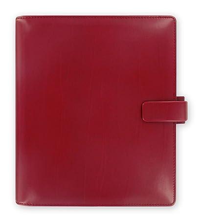 Filofax Metropol - Agenda archivador (tamaño A5), color rojo