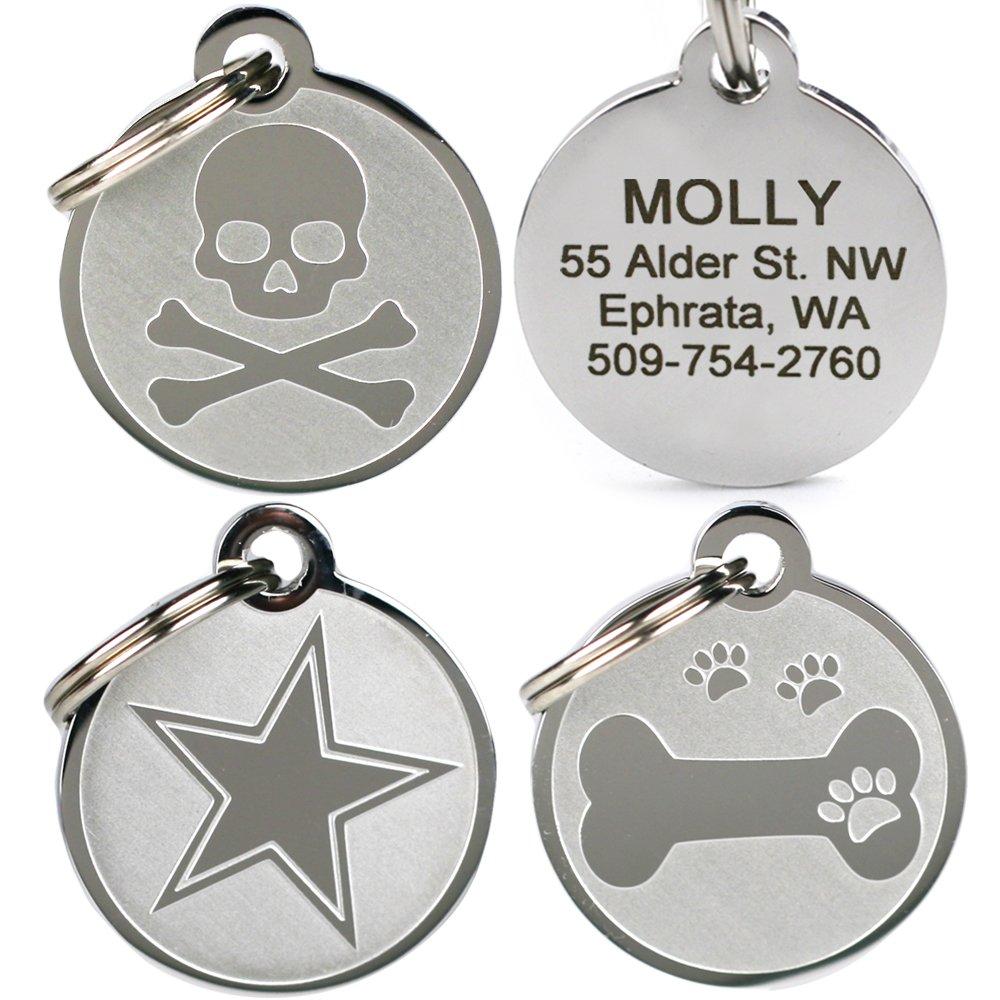 GoTags Pet ID - Playful, Custom Engraved Dog & Cat