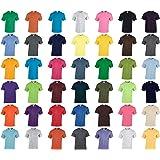 Gildan T-Shirt Blank Plain tee S - 5XL Small Big Men's Cotton Premium Quality Red