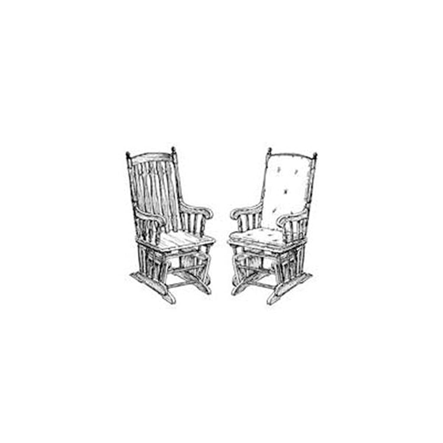 Rocking chair drawing Clip Art Woodworking Project Paper Plan To Build Glider Chair Indoor Furniture Woodworking Project Plans Amazoncom Amazoncom Woodworking Project Paper Plan To Build Glider Chair Indoor