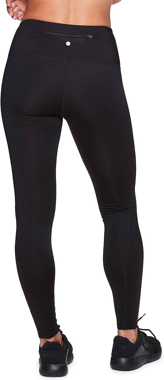 RBX Active Womens Fleece Lined Full Length Athletic Training Running Yoga Leggings