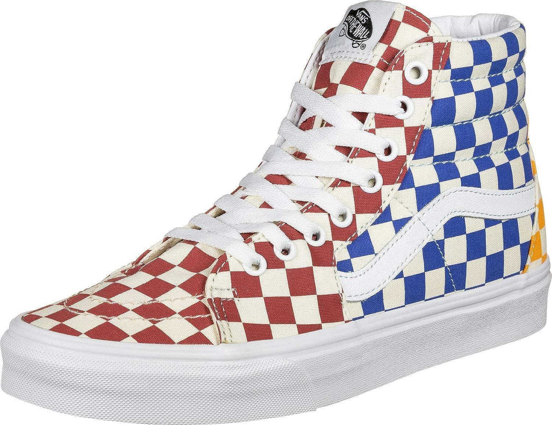 Amazon.com | Vans SK8-HI (Checkerboard