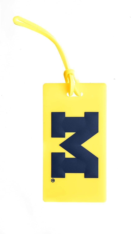MICHIGAN WOLVERINES NCAA PVC LUGGAGE TAG