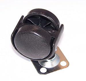 OEM Delonghi Air Conditioner AC Caster Wheel Foot For Delonghi DD40P, DD45E, DD50PSCE, DD45PE