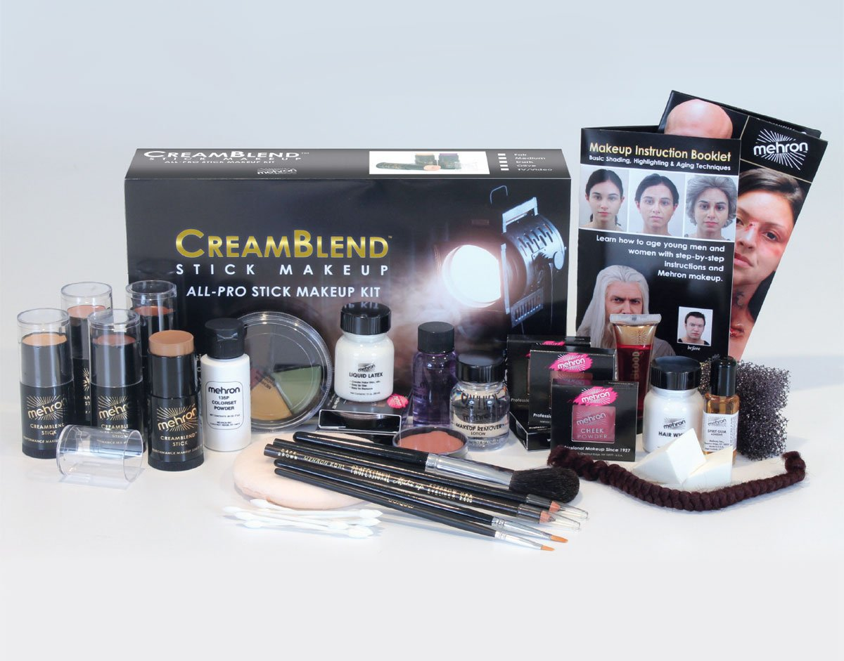 Mehron Makeup Creamblend All-Pro Student Makeup Kit (Fair)
