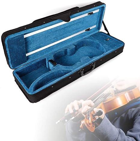 Estuche para Violín con Funda de Tela 4/4 Oxford y Maleta Mochila Maleta para Principiantes: Amazon.es: Instrumentos musicales