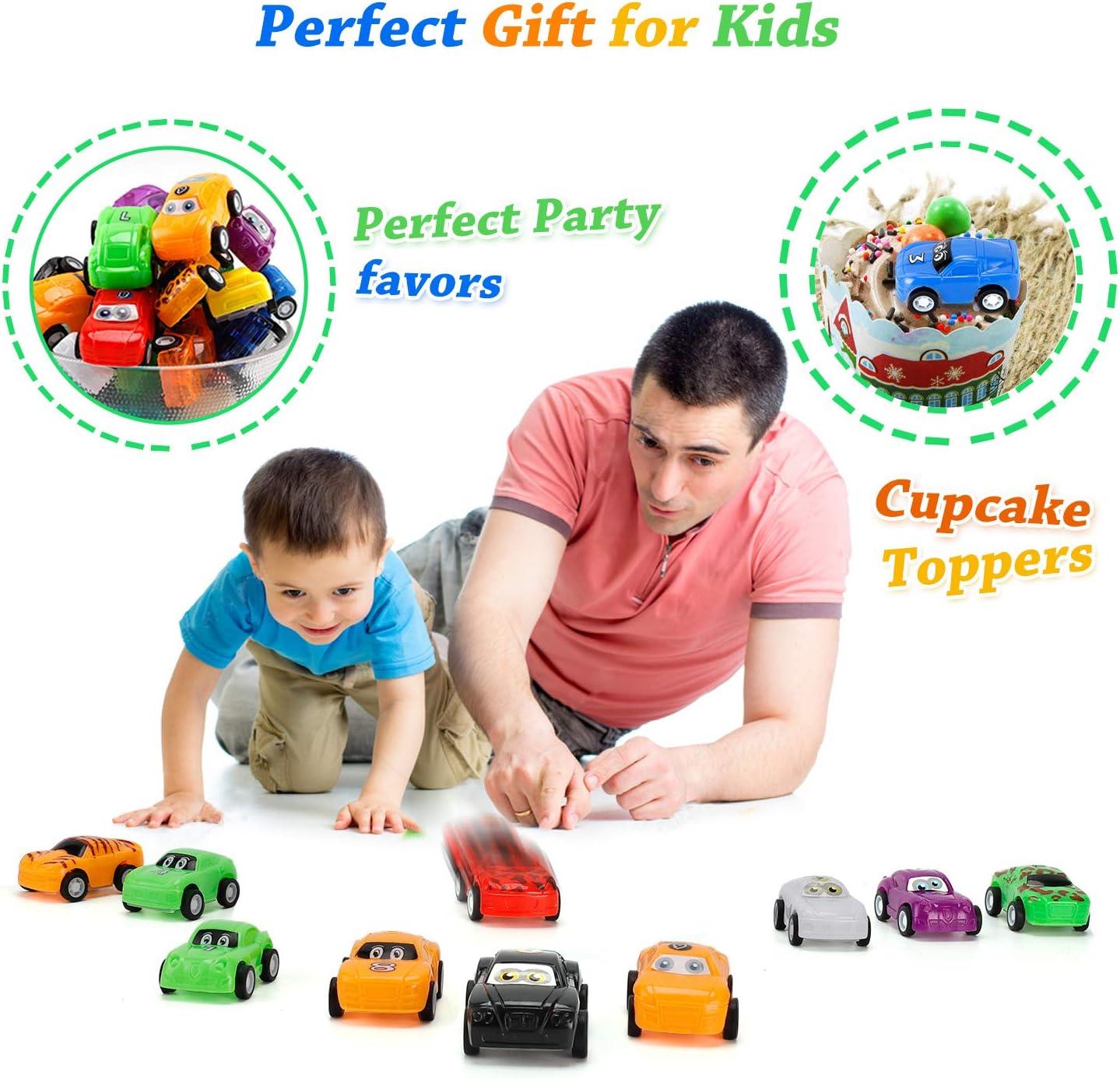 32er Pack Mini Autos Spielzeug Party Favors Auto Spielzeug Set Zur/ückziehen Fahrzeuge Auto Spielzeug f/ür Kinder Jungen und M/ädchen NASHRIO Zur/ückziehen Autos Spielzeug