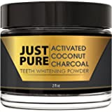 Teeth Whitening Activated Coconut Charcoal Powder – 2 ozs - Natural Kit - No Strips, Gel, Pen or Light