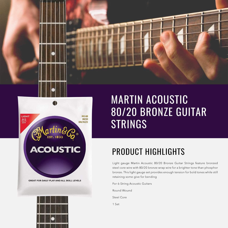 Luna Safari Series Tattoo Travel-Size Dreadnought Acoustic Guitar with Accessory Bundle