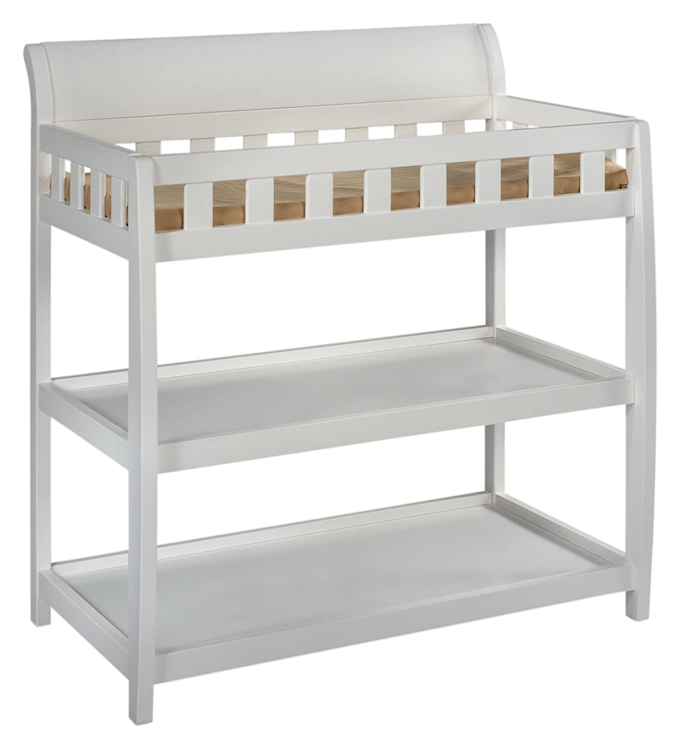 Delta Children 7596-100 Bentley Changing Table, White