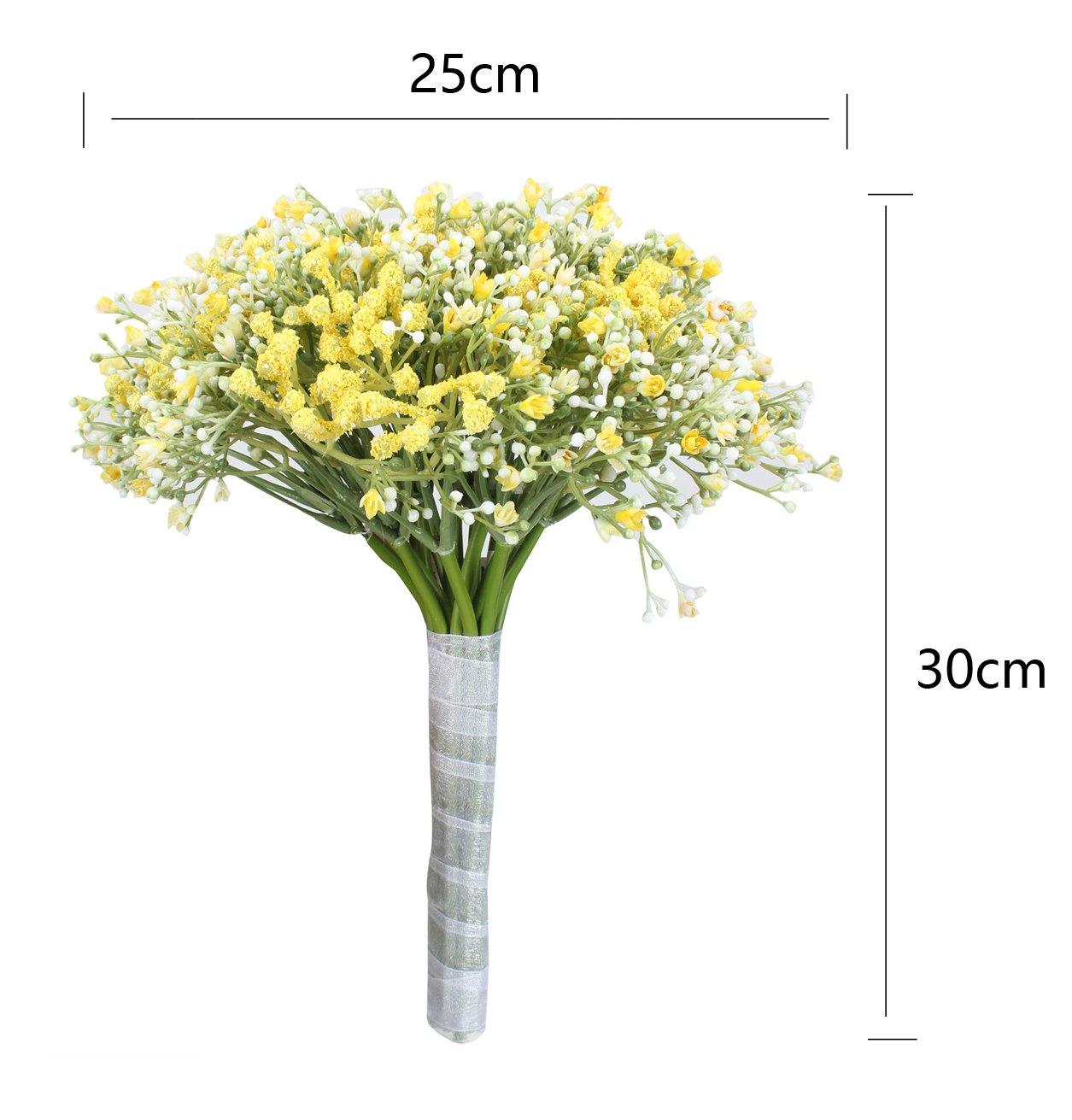 1//20Pcs Romantic Baby/'s Breath Gypsophila Silk Flower Party Wedding Home Décor
