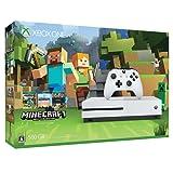 Xbox One S 500GB Ultra HD ブルーレイ対応プレイヤー Minecraft 同梱版 (ZQ9-00068) 【メーカー生産終了】