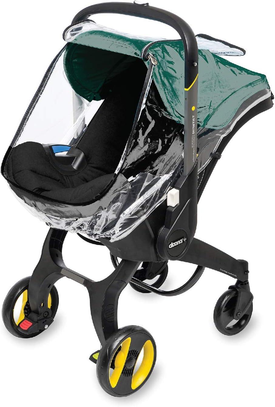 Simple Parenting - Plástico de Lluvia para Silla de Auto Doona transparente