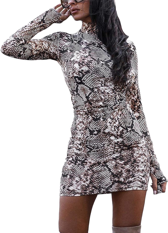 Damen Bodycon Kleid Rollkragen Knielang Elegent Eng Partykleid Abendkleid Langarm Kleid Clubwear Kleider Bekleidung Barbersandbrothers Com