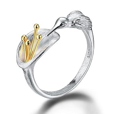 Amazon.com: Lotus Fun S925 Anillos de plata de ley anillos ...