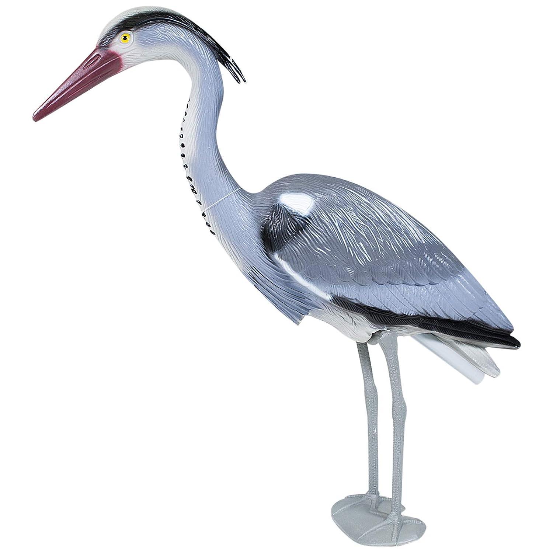 Large Decoy Heron Garden Ornament Scarer Fish Pond Carp Plastic Resin not Metal