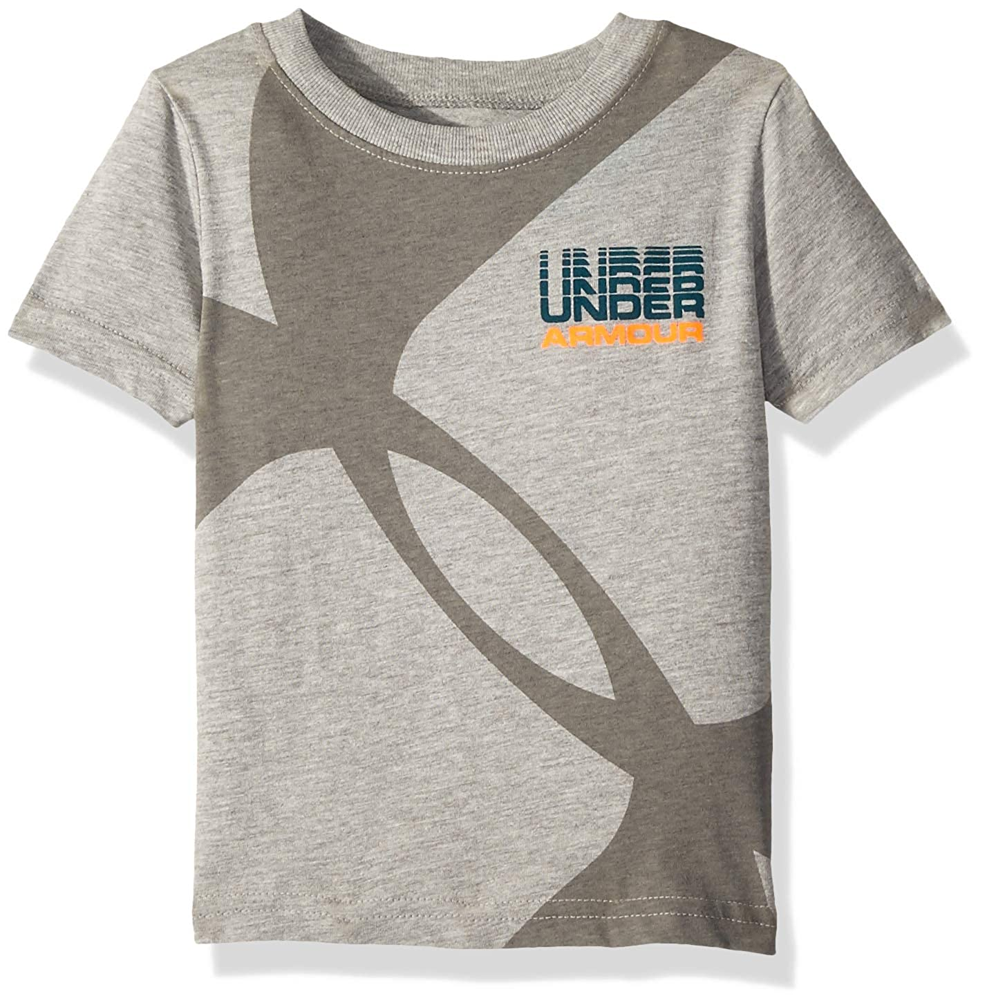 Under Armour Baby Boys Big Logo Short Sleeve Tee Shirt