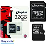 Original Kingston Micro SD Memory Card For LG Electronics K8 - 32 GB