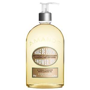 L'Occitane Cleansing & Softening Almond Shower Oil, 16.9Fl Oz