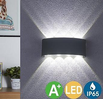 Led Wandleuchte Innen Led Wandlampe Außen 8w Wasserdicht Ip65