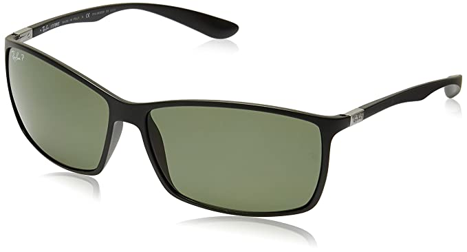 f895f61d30 Image Unavailable. Image not available for. Colour  Ray-Ban Rectangular  Sunglasses (Matte Black) ...