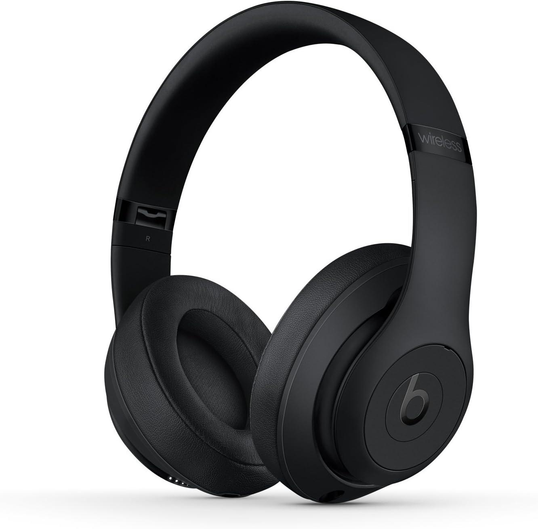 B079TLV1WW Beats Studio3 Wireless Headphones - Matte Black (Renewed) 71BdCOunW4L