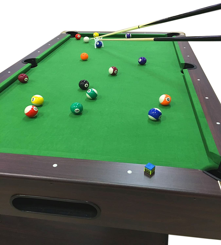 Amazon.com : Billiard Pool Table 7\' Feet Snooker Full Set ...