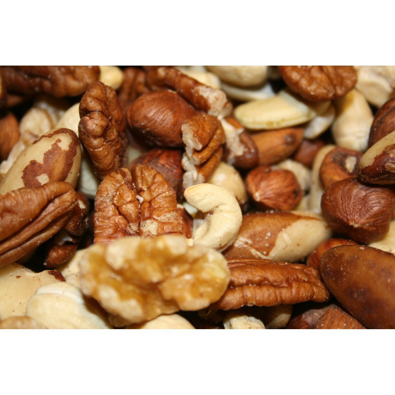 Raw Deluxe Mixed Nuts 3 Lbs, in Resealable Bag, We Got Nuts by We Got Nuts (Image #1)