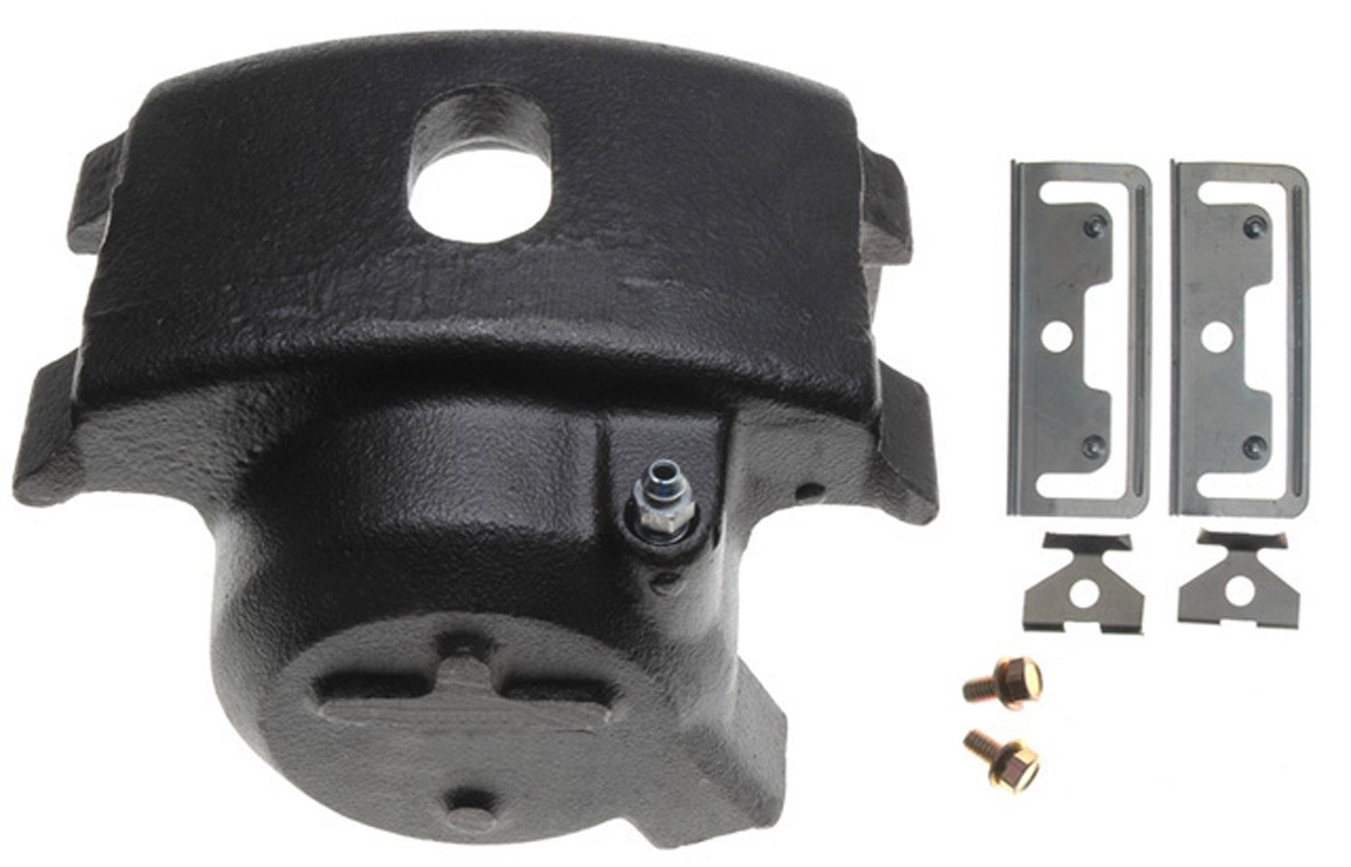 ACDelco 18FR620 Professional Front Driver Side Disc Brake Caliper Assembly without Pads (Friction Ready Non-Coated), Remanufactured