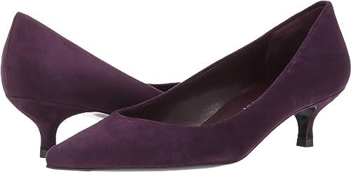 Stuart Weitzman Women's Poco Berry Suede Shoe
