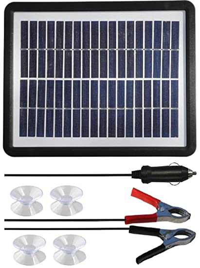 Amazon Com Sunway Solar 6w Car Battery Trickle Charger Multi
