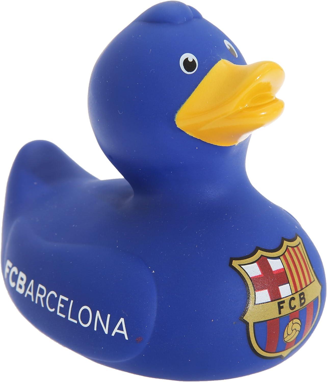 /Fantaisie b/éb/é Football Cadeau id/ées Jouets pour b/éb/é/ /officielle FC Barcelone Canard en caoutchouc jouet de bain/