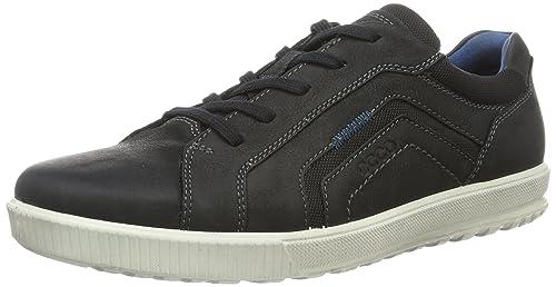 Ecco Ennio 534274, Zapatillas para Hombre, Negro (51052black/Black), 40 EU