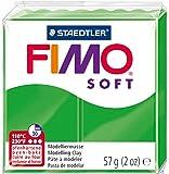 Staedtler 8020-53 - Fimo Soft Normalblock, 57 g, tropischgrün